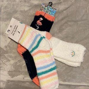 NWT cozy socks
